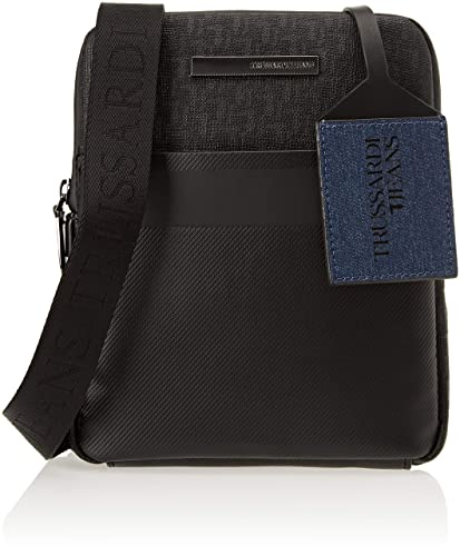 ab69927674 Trussardi Jeans Men s 71B00082-9Y099999 Messenger Bag  Amazon.co.uk ...