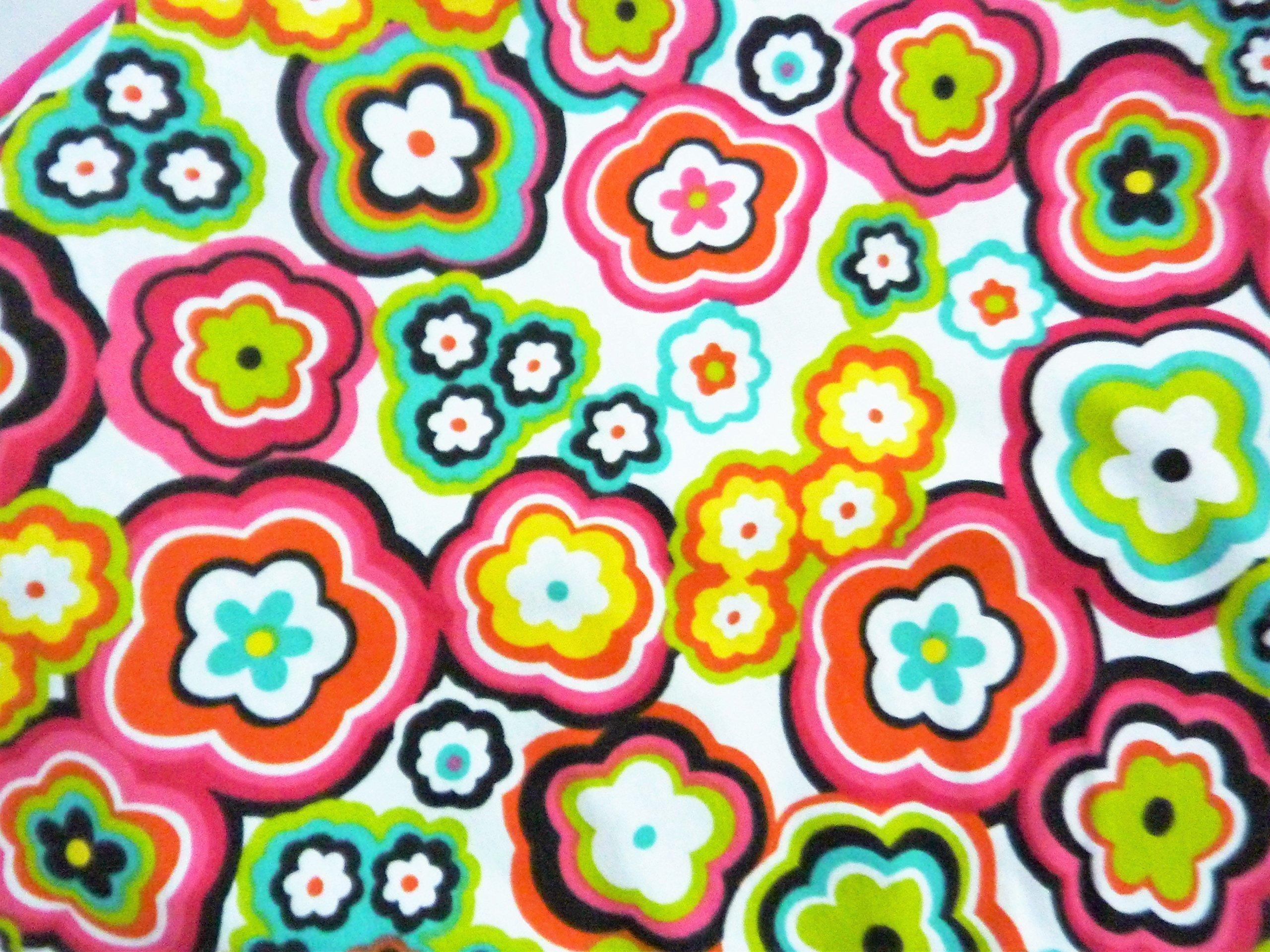 Nursing Pillow Slipcover Flower Print