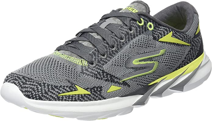 Skechersgo MEB Speed 3 2016 - Zapatillas de Running Hombre, Color Gris, Talla 40: Amazon.es: Zapatos y complementos