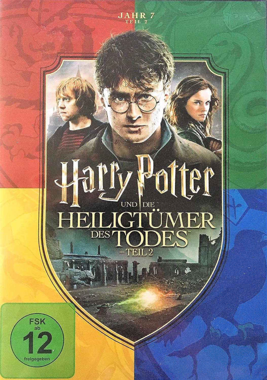 Harry Potter Und Die Heiligtumer Des Todes Teil 2 Amazon De Dvd Blu Ray