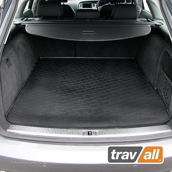Travall Cargomat Liner Kofferraumwanne Kompatibel Mit Audi A6 Avant 2004 2011 Allroad 2006 2012 Tbm1003 Maßgeschneiderte Gepäckraumeinlage Mit Anti Rutsch Beschichtung Haustier