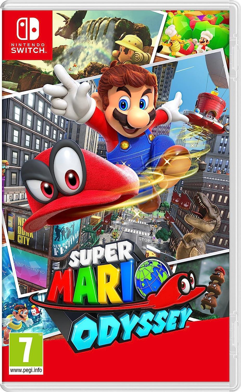 Amazoncom Super Mario Odyssey Nintendo Switch Video Games