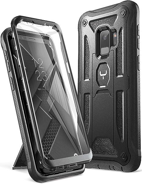 Funda YOUMAKER Galaxy S9, Protección resistente, con protector de ...