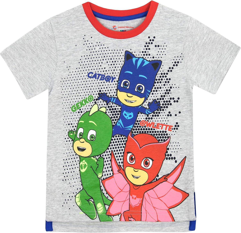 Girls Official Licensed PJ Masks Red Owlette Long Sleeve T Shirt Top