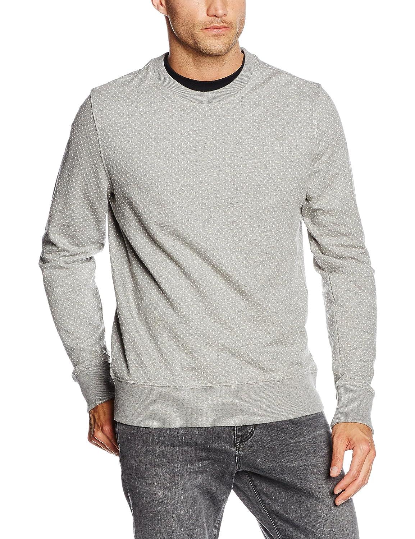 Tommy Hilfiger Herren Sweatshirt Dotted Jacquard C-Nk L/s Vf