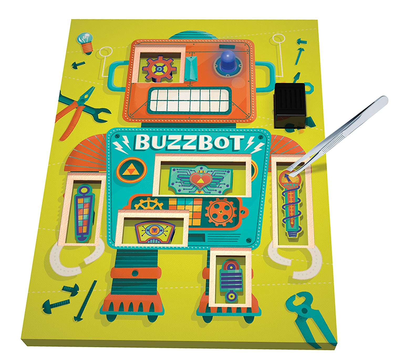 Klutz Maker Lab Circuit Kit Toys Games Buzzergameshowcircuitpng