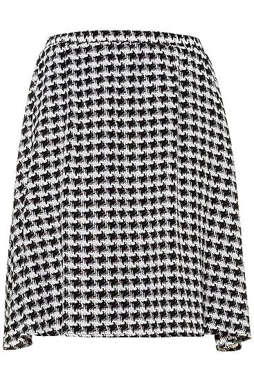 Studio Untell 723155 - Falda de Pata de Gallo para Mujer: Amazon ...