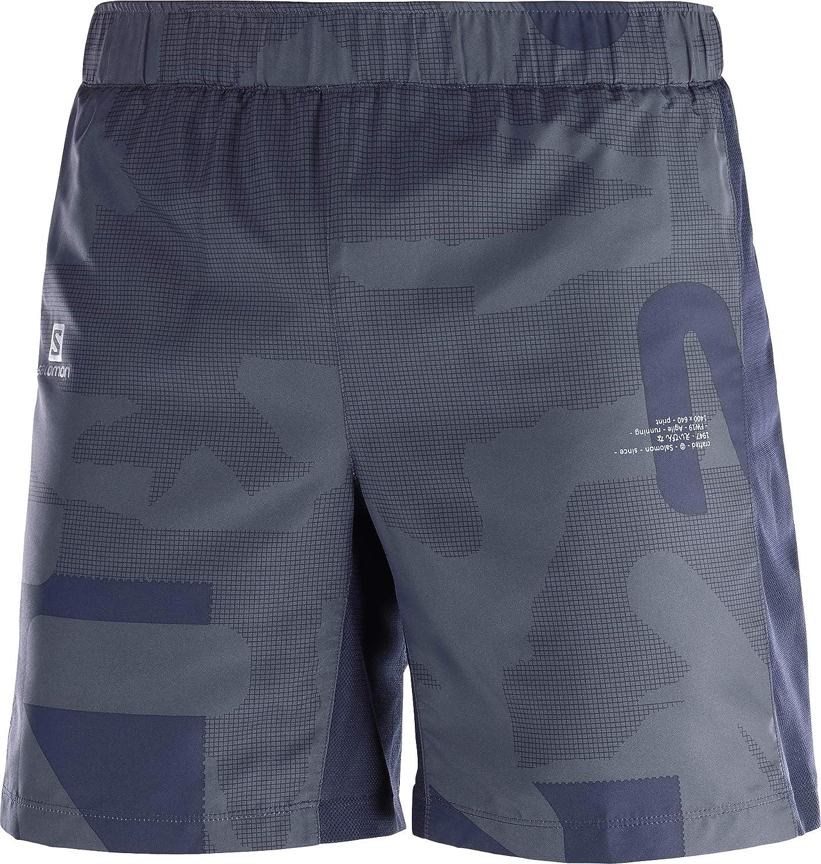 Agile 7 Short M Pantaloncini da Corsa da Uomo SALOMON Poliestere