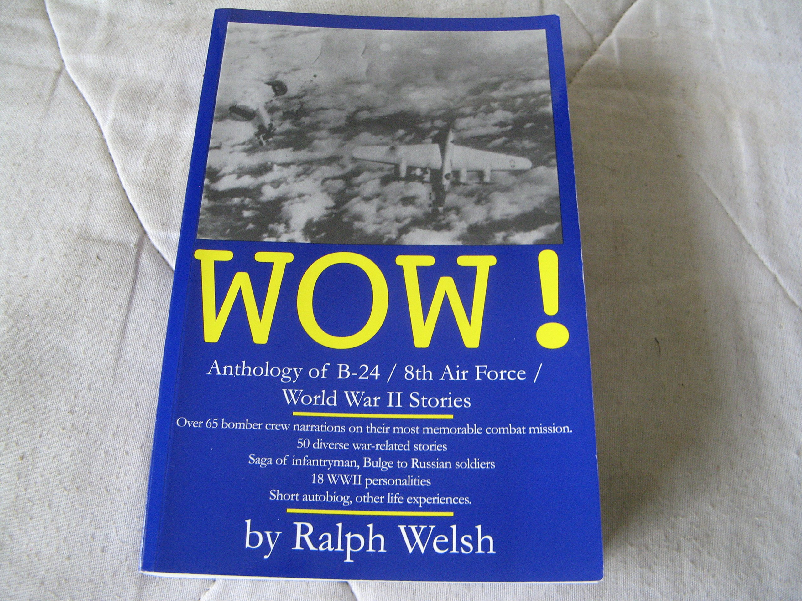 WOW!: An anthology with 149 World War II stories of bombing missions, personalities, diverse life experiences. PDF