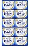 花王白色礼盒 85克 10个 K・W-10