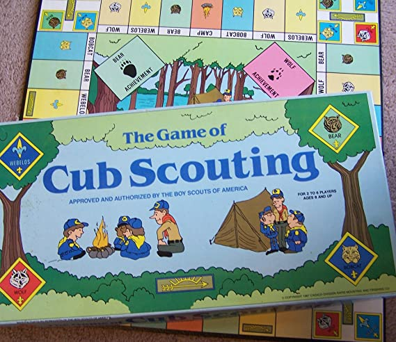 Amazon com: The Game of Cub Scouting -- Approved by The Boy Scouts