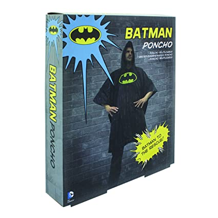 Amazon.com  Paladone Batman Superhero Poncho  Toys   Games da7dcc5fd932d