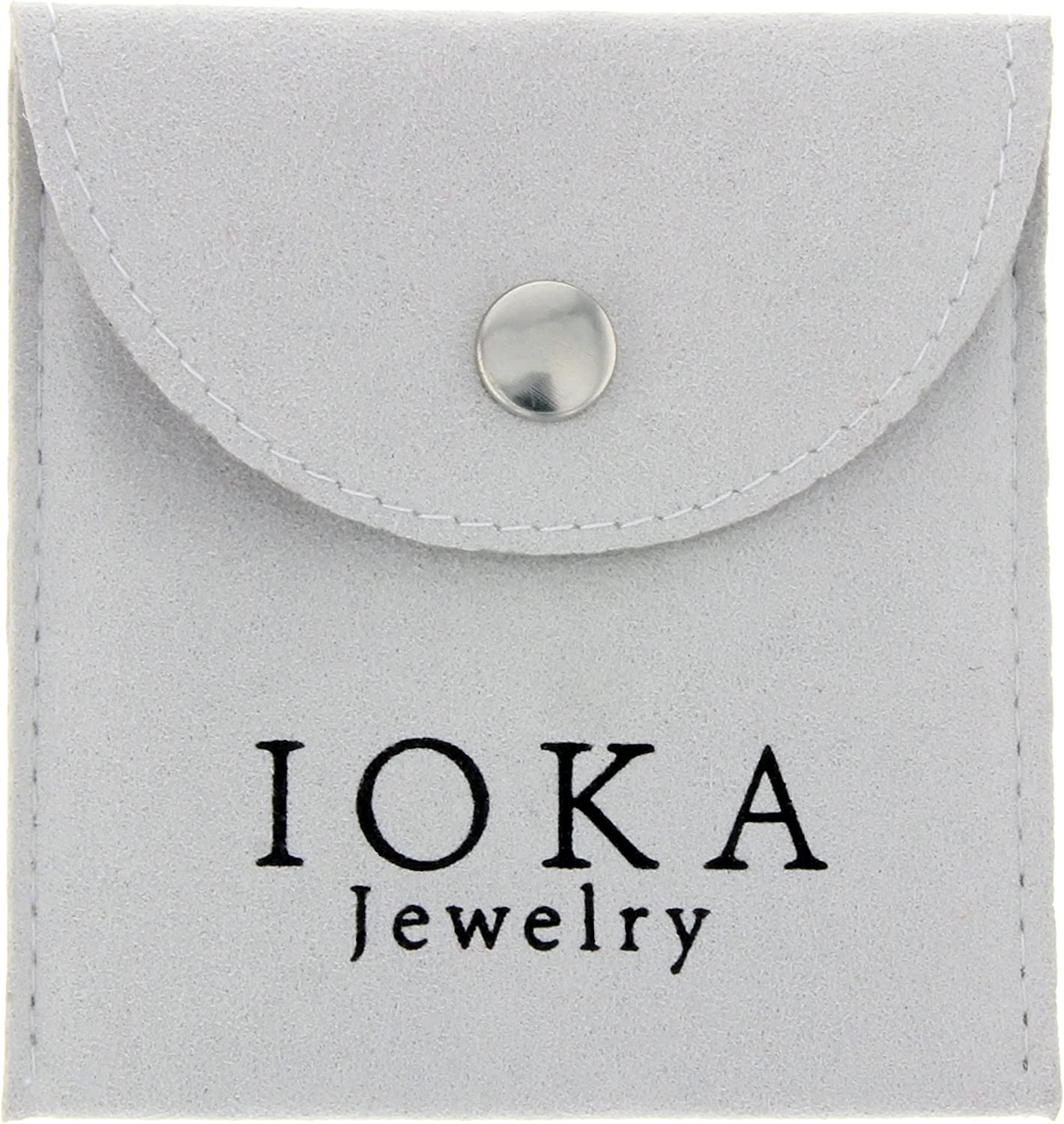 Ioka 14K Yellow GoldTe Amo Couple Broken Heart Charm Pendant For Necklace or Chain