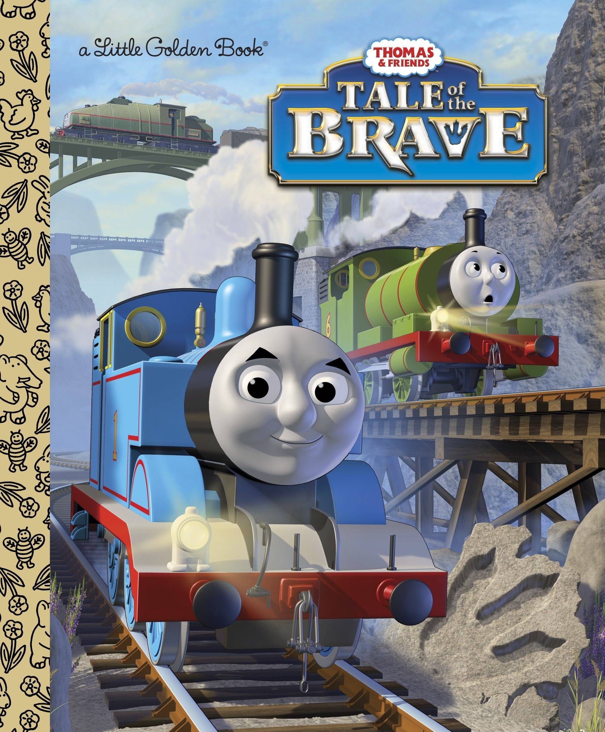Read Online Tale of the Brave (Thomas & Friends) (Little Golden Book) pdf epub