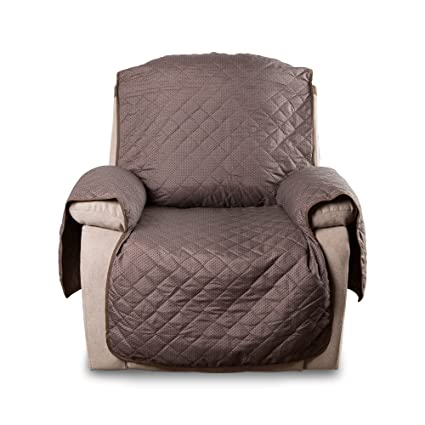 Awe Inspiring E Living Store Reversible Recliner Chair Furniture Protector With 2 Inch Elastic Strap Machine Washable Perfect For Pet And Kids Seat Width Up To Short Links Chair Design For Home Short Linksinfo