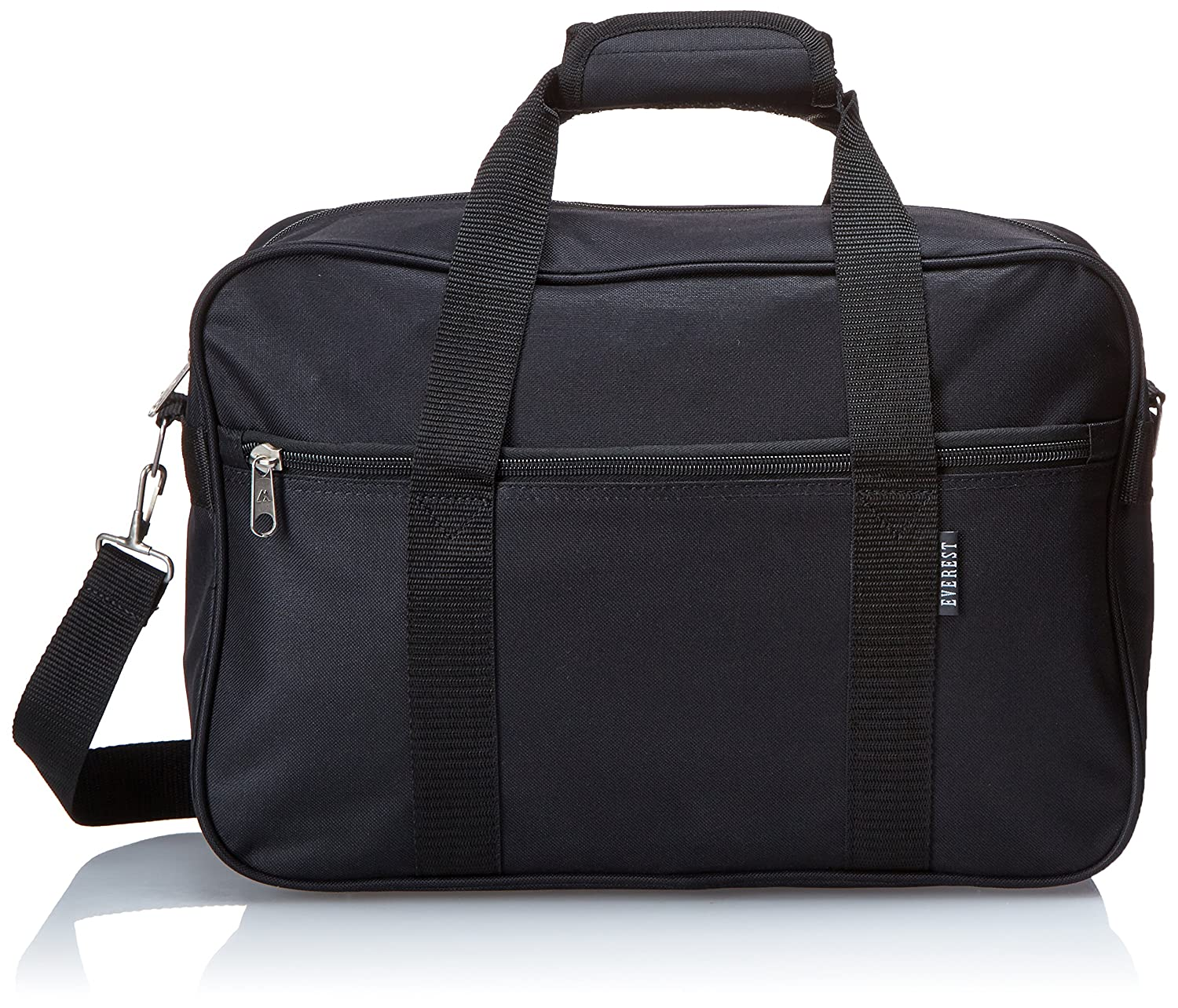 Everest Carry-On Briefcase, Black, One Size 1004D-BK