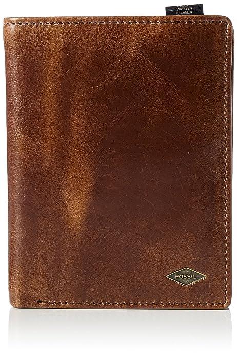 07d2c5ac00 Fossil Ryan Portafogli Uomo, Braun (Dark Brown), 3x13x10 cm (L x H D):  Amazon.it: Scarpe e borse