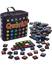 Schmidt Spiele 49270 Qwirkle Travel, Spiel des Jahres 2011 als Reisespiel, bunt