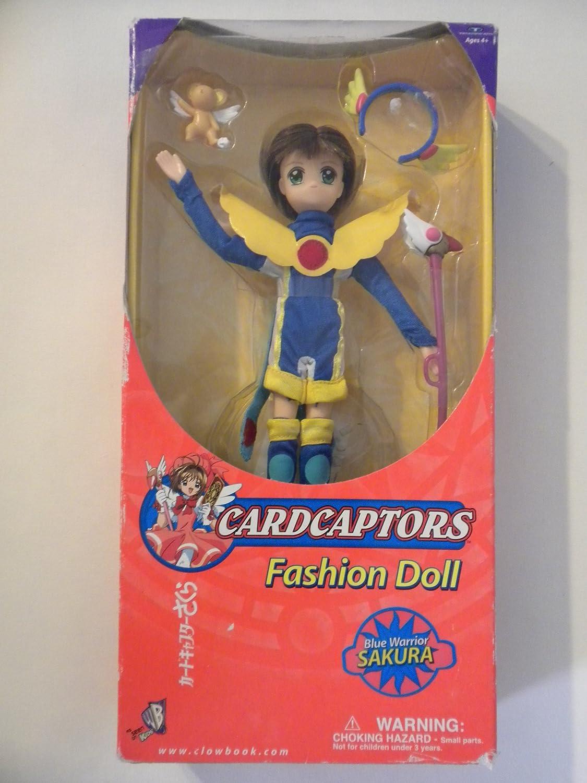 amazon com cardcaptors fashion doll blue warrior sakura toys u0026 games