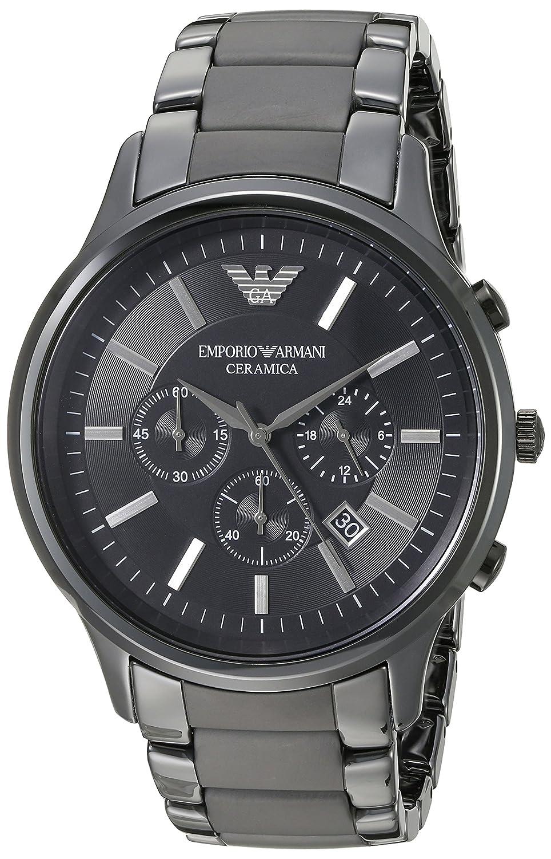78dedd080 Amazon.com: Emporio Armani AR1451 Black Ceramica Mens Watch: Emporio Armani:  Watches