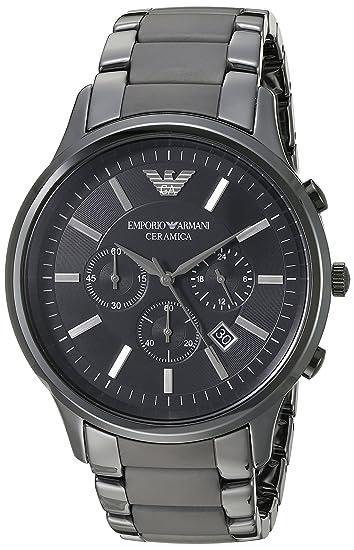 747427adf118 Emporio Armani AR1451 Reloj Hombre- Armani Ceramico  Amazon.es  Relojes