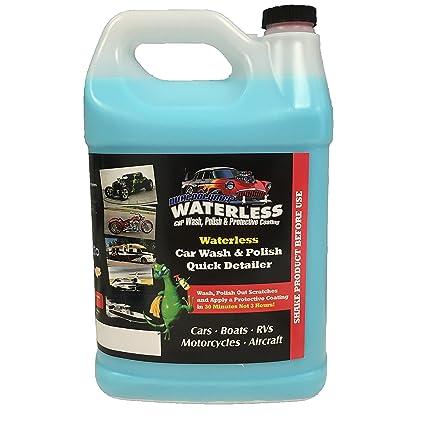 Amazon com: Dual Polymer Waterless Car Wash, Polish, and
