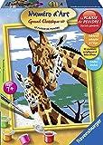 Ravensburger - 27998 - Numéro d'Art - Petit Format - Belles girafes