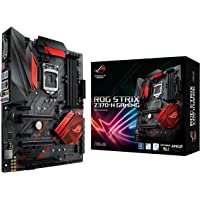 ASUS Strix Z370-H Gaming Motherboard, ATX, Socket LGA 1151, Chipset Z370, DDR4, HDMI, DVI, M.2, Gigabit LAN, USB 3.1