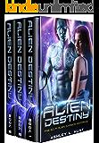 Alien Romance Box Set: Romantic Suspense: Alien Destiny: SciFi Alien Romance Adventure Romantic Suspense Trilogy (Complete Series Box Set Books 1-3) (Alien Adventure Romance Bundle Book 4)