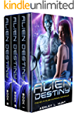 Alien Romance Box Set: Romantic Suspense: Alien Destiny: SciFi Alien Romance Adventure Romantic Suspense Trilogy (Complete Series Box Set Books 1-3)