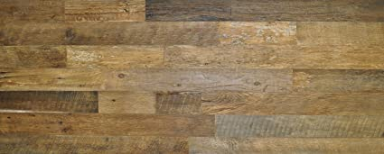 Amazon east coast rustic diy brown 35 sealed reclaimed wood east coast rustic diy brown 35quot sealed reclaimed wood wall covering 20 square feet solutioingenieria Gallery