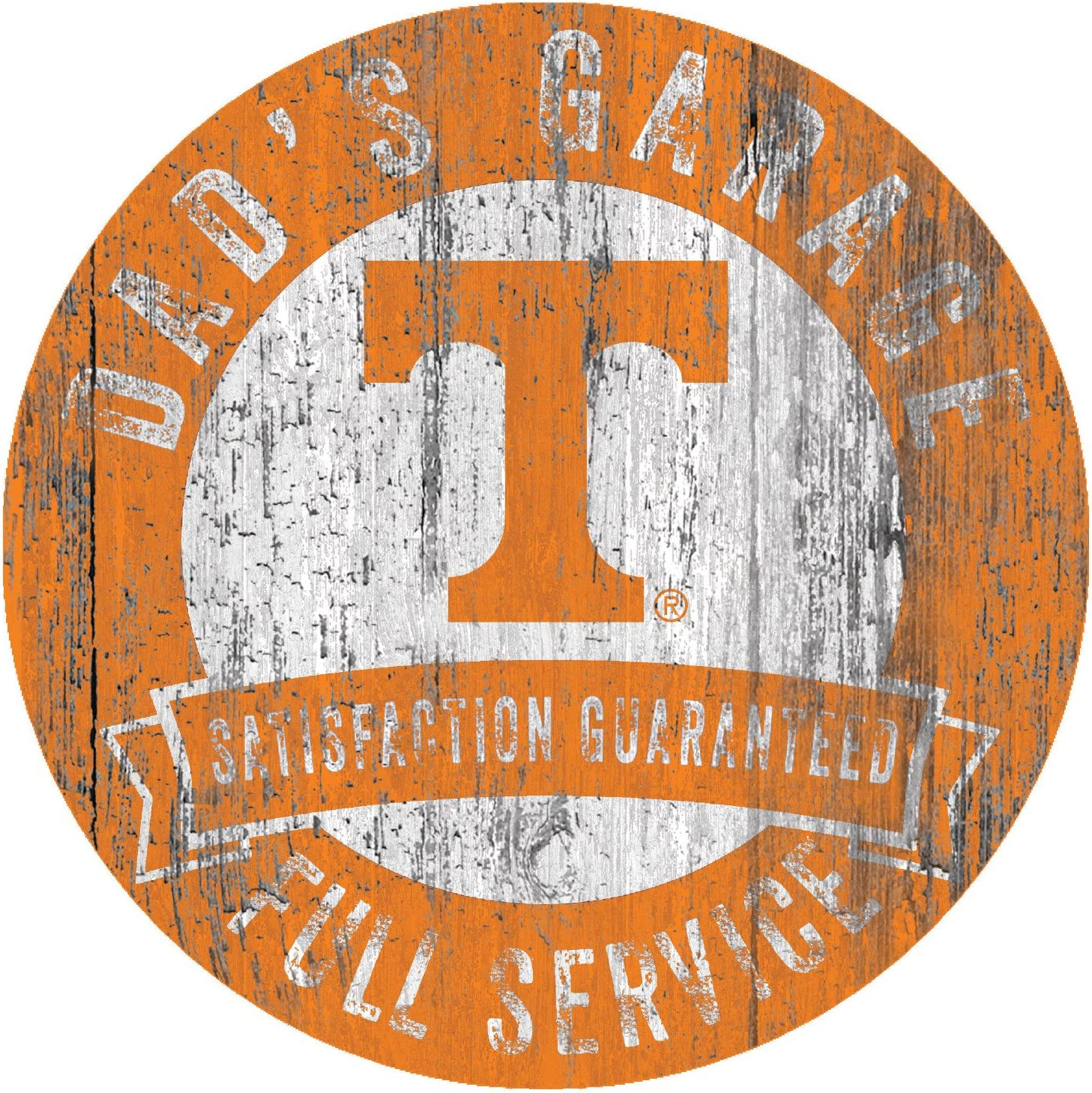 Fan Creations NCAA Tennessee Volunteers 6 x 12 I Love You to Wood Sign