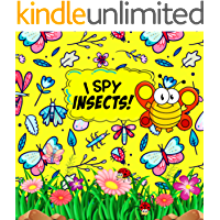 I Spy Insects!: Picture Guessing Activity Book for Kids Ages 2-5 (Insects Themed)