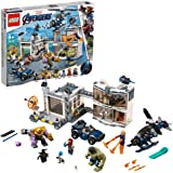 LEGO Marvel Avengers Compound Battle 76131 Building Set Includes Toy Car, Helicopter, and Popular Avengers Characters Iron Ma
