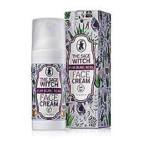 Natural Organic Anti-Aging Face Cream Moisturizer, Vegan Non-Greasy Formula With...