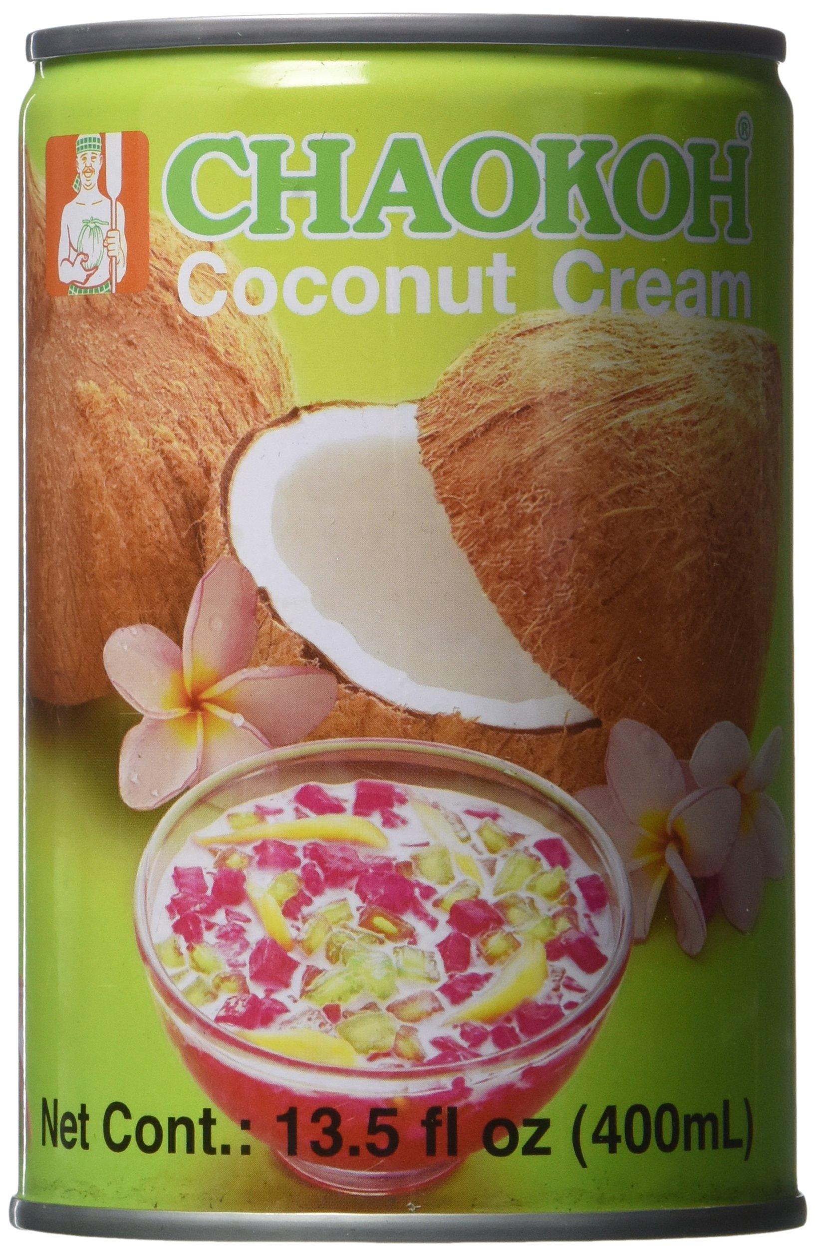 Chaokoh Coconut Cream, 13.5 Ounce by Chaokoh