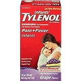 Infants' Tylenol Oral Suspension, Grape, 1 Oz