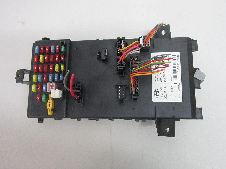 Amazon.com: 03 04 05 06 07 08 HYUNDAI TIBURON BODY CONTROL MODULE FUSE BOX  95480 2C310: Car Electronics