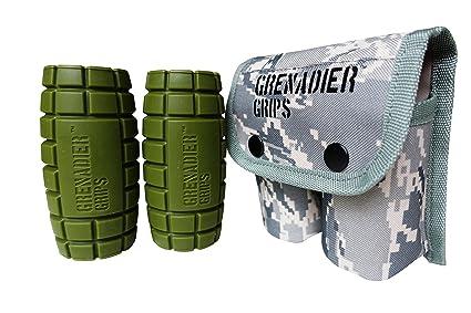 Agarre en forma de granada para pesas, GreenLong