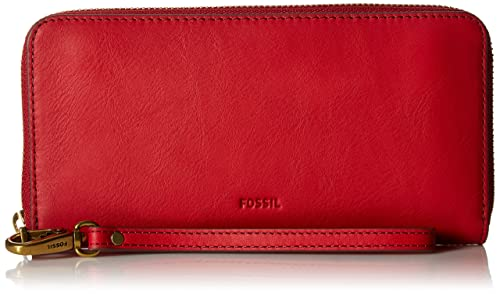 Fossil Emma Large Zip Wallet