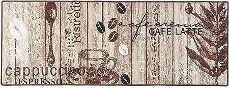 Hanse Home K/üchenl/äufer Delicious Coffee Braun 67x180 cm
