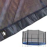 Vortigern - Red de Seguridad de repuesto para cama elástica trampolín redonda (diámetro de 3,05 m, no incluye postes)