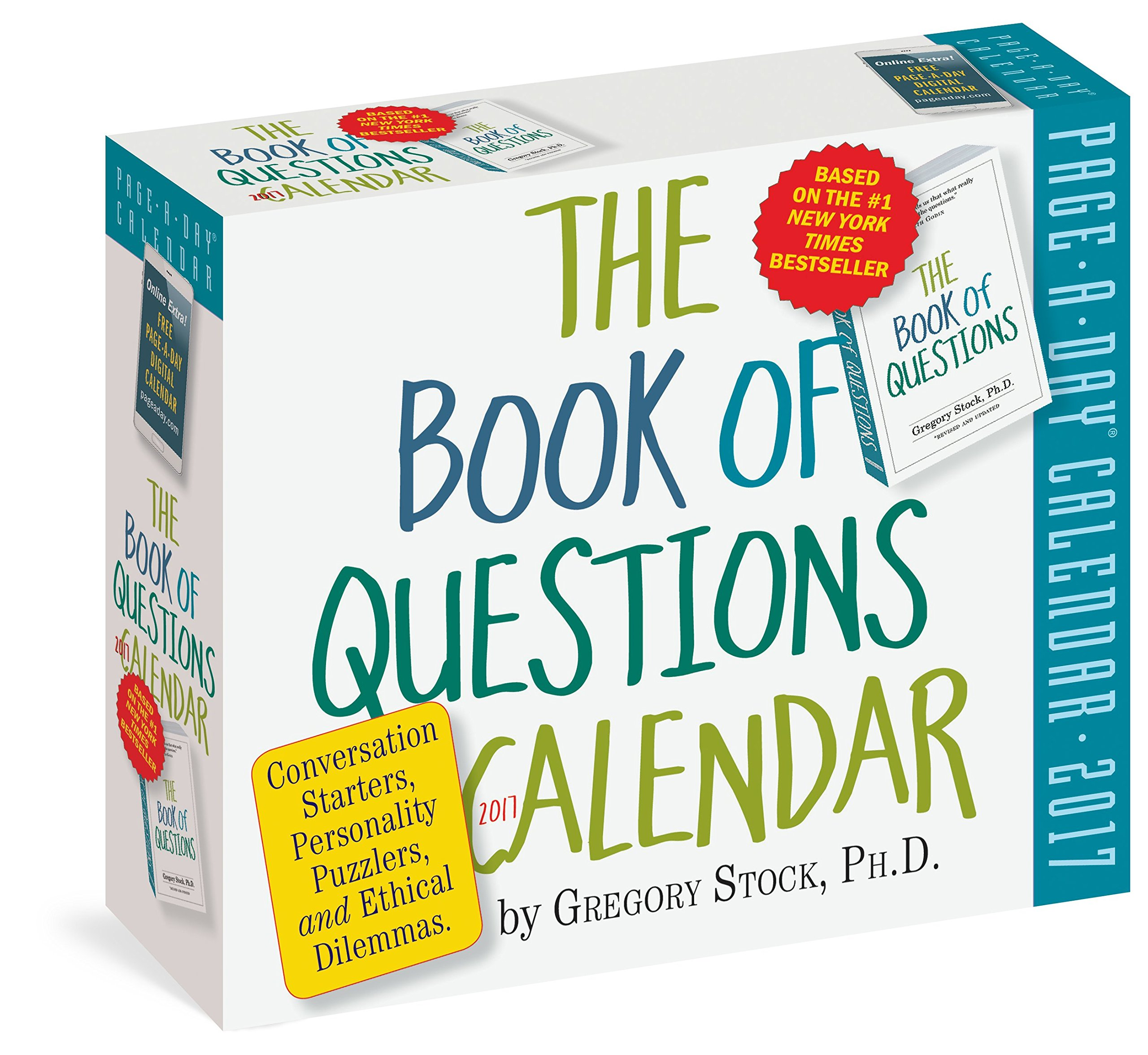 The Book Of Questions Pageaday Calendar 2017: Gregory Stock Phd:  9780761188667: Amazon: Books