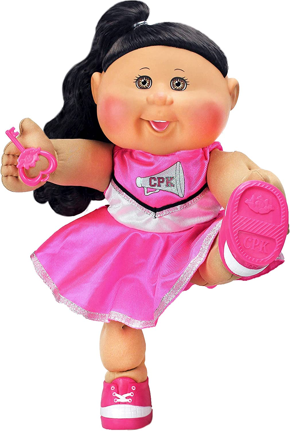 Amazon.com: Cabbage Patch Kids 14 African American Cheerleader Fashion: Toys  & Games