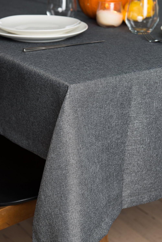 Rollmayer abwaschbar abwaschbar abwaschbar Tischdecke Wasserabweisend Lotuseffekt (Melange Rot 35, 150x350cm) Leinenoptik Tischtuch mit pflegeleicht Fleckschutz, Rechteckig, Farbe & Größe wählbar B076ZV9GQB Tischdecken 85ad5e
