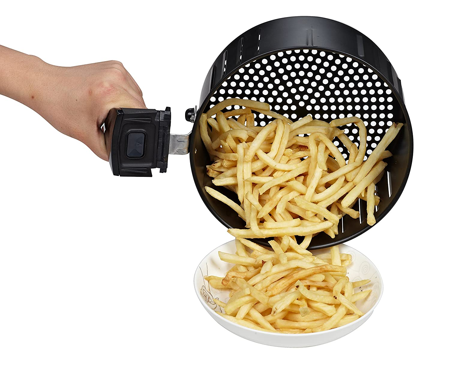 GoWISE USA 3.7-Quart Programmable Air Fryer with 8 Cook Presets GW22638