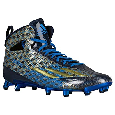 adidas Men s adizero 5-star 4.0 Mid Football Cleats Collegiate Navy Gold  Metallic Bright Royal 11 D(M) US  Buy Online at Low Prices in India -  Amazon.in 527042c72