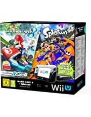 Nintendo Wii U Premium Pack 32GB schwarz inkl. Mario Kart 8 (vorinstalliert) + Splatoon DLC-Code
