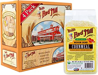 product image for Bob's Red Mill Organic Medium Grind Cornmeal, 24 Oz (4 Pack)