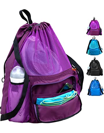 Hard-Working Outad New Large Capacity Solid Color Waterproof Men Women Drawstring Backpack Summer Beach Oxford Cloth Shoulder Bag Backpack Clothing & Wardrobe Storage Home & Garden